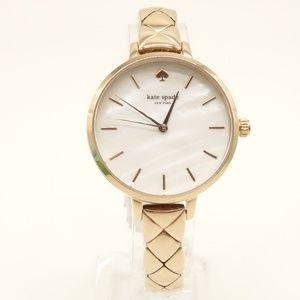 NEW KATE SPADE Metro Gold Watch KSW1466 $250💋